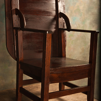 Monks Chair/Table - Furniture