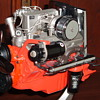 '57 Corvette fuel injection engine model