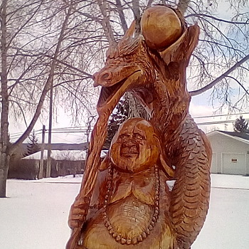 Road Trip / Chainsaw Carvings 3 - Visual Art