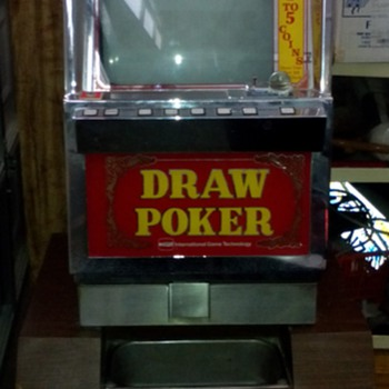 Vintage Casino Used Video Poker Slot Machine
