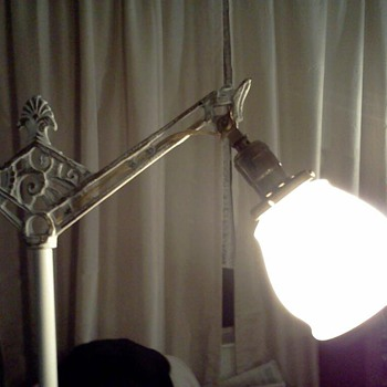 Vintage Bridge Floor Lamp