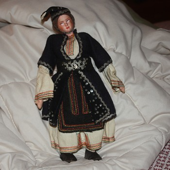 found this doll while going through things after she past away.