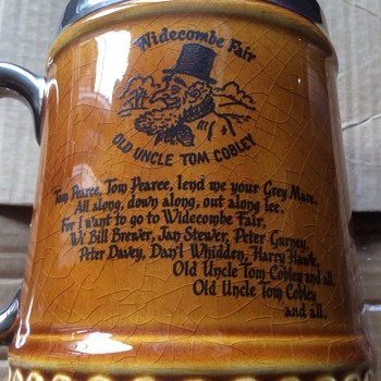 Antique tankard - Breweriana