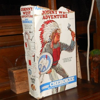 Chief Cherokee Johnny West Adventures Version