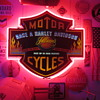 Vintage Harley Davidson Neon Sign