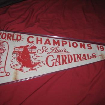 1964 STL Cardinals World Series Champions - Baseball