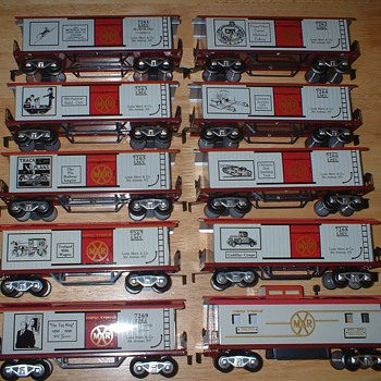 Marx Trains Louis Marx Commemorative Birthday Train Set
