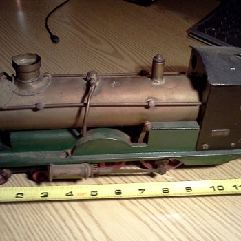 Live Steam Loco from England - Model Trains