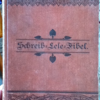 1885 German Book - Books