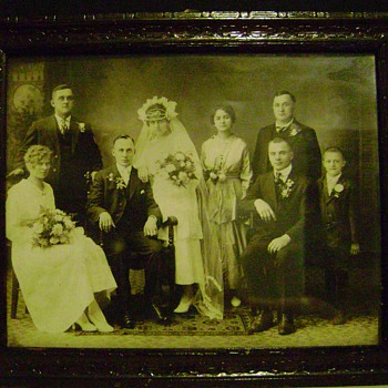Old Wedding Photograph - Photographs