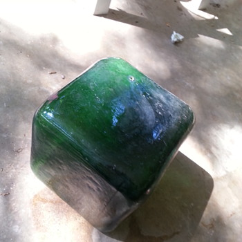 Curious Hollow Glass Cube