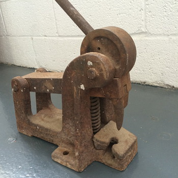What is this heavy metal thing? - Tools and Hardware