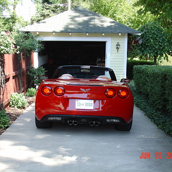 Scarlett...2007 Chevrolet Corvette Convertible... Six Speed - Classic Cars