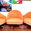 StayingVintage's Retro Bucket Seat Snuggy Huggin' Chairs
