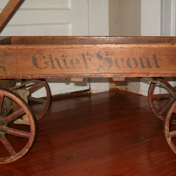 Antique Wagon - Outdoor Sports