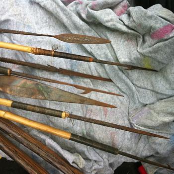 Australian Bow and arrows