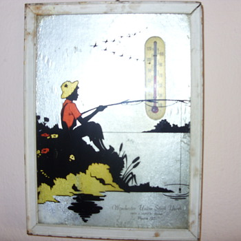 EARLY THEROMETER - Advertising
