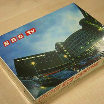 Rare, Old and Unopened BBC Jigsaw - Games