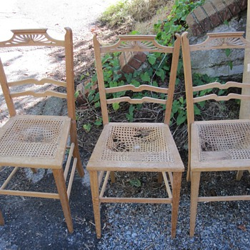 Beautiful Back Chairs - Furniture