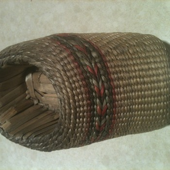 American Indian Woven shoe?