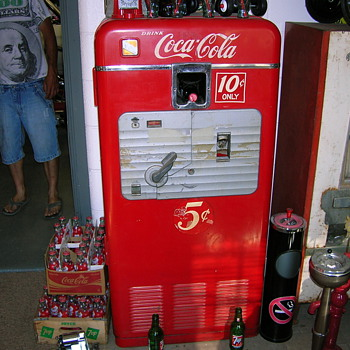 vmc 27a coke machine