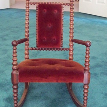 Childs/Salesman's Sample Rocking Chair - Furniture