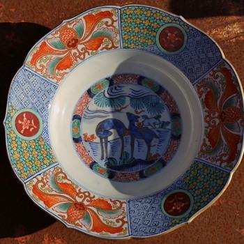 Imari Plate - Pottery