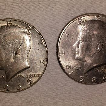 Kennedy Half Dollar Coins
