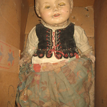 Composition Doll? - Dolls
