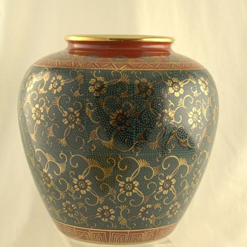 My beautiful Kutani vase
