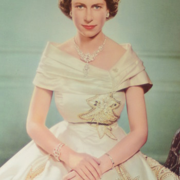 1951 Yousuf Karsh Prints Queen Elizabeth and Prince Philip
