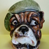 Antique Dog Tobacco Jar