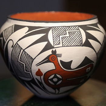 Decorated Olla by J.G., Acoma, NM - Pottery
