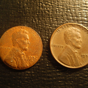 1952 D wheat penny - US Coins