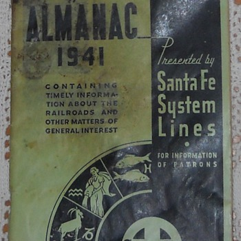 Everyman's Almanac - 1941 - Railroadiana