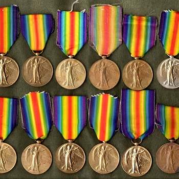 The WWI Victory Medal Series  British Empire