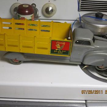 Marx toy coca-cola truck