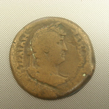Rare Roman Coin  _ Hadrian _ ISIS Pharia _Lighthouse at Alexandria