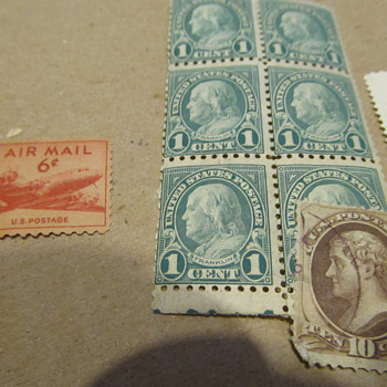 Old stamps circa 1800s/early 1900s - assistance please