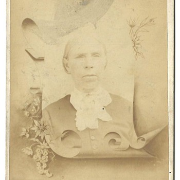 Cabinet Card of Mary (Sweeney) Call
