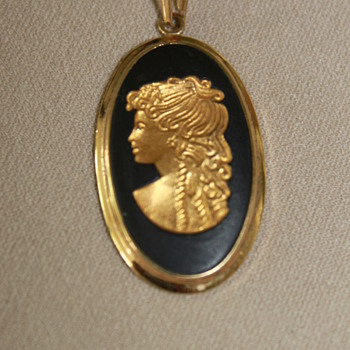 Wedgwood Intaglio - Costume Jewelry