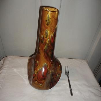 MidCentury Drip Glaze Pottery