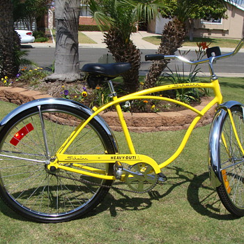 My unrestored 1975 Schwinn Heavy Duti Cruiser