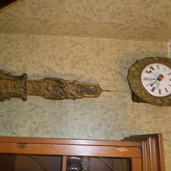 hanging clock