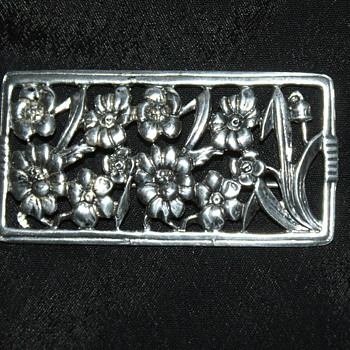 Vintage Danecraft Sterling Brooch - Fine Jewelry