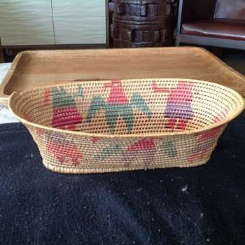 Indian basket.  Does anyone have any info?
