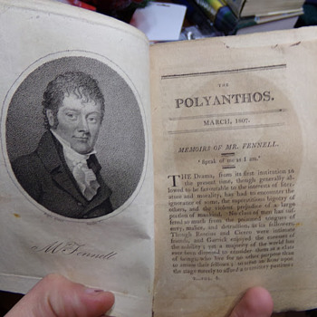 The Polyanthos Magazine, 1807 (Taken from a volume.) - Paper