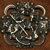 "Sterling Guglielmo CINI ""styled"" brooch, St. George slays the dragon"