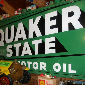 QUAKER STATE,AUTOPRO,PHILLIPS 66,GOODYEAR signs - Petroliana