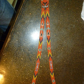 native bead necklace - Native American